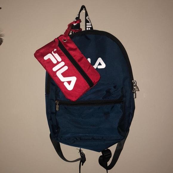 Handbags - Mini Fila Backpack